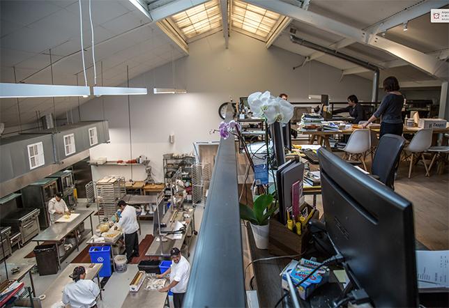 solar-powered kitchen